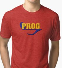 Prog (progressive rock music) Tri-blend T-Shirt