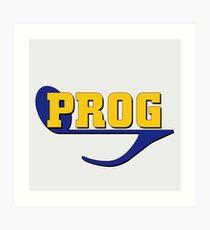 Prog (progressive rock music) Art Print