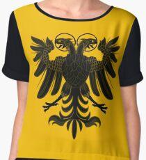Sacred Roman Empire Eagle Chiffon Top