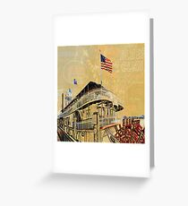 NEW ORLEANS NATCHEZ Greeting Card