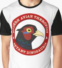Modern Avian Theropods - Extant Dinosauria: Phasianus Graphic T-Shirt