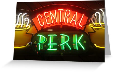 'Friends' Central Perk Sign by joshgranovsky
