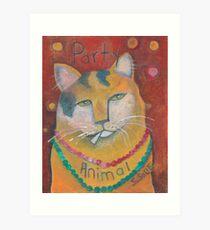 Party Animal  Art Print