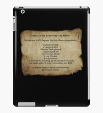 Directions to Monkey Island iPad Case/Skin
