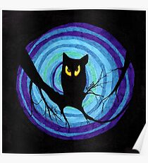 time for child stories: the EVIL OWL Poster
