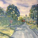 """Approach to Kilham"" by Glenn  Marshall"
