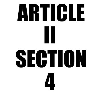 Impeach Trump Article 2 Section 4! by ClassyKitty
