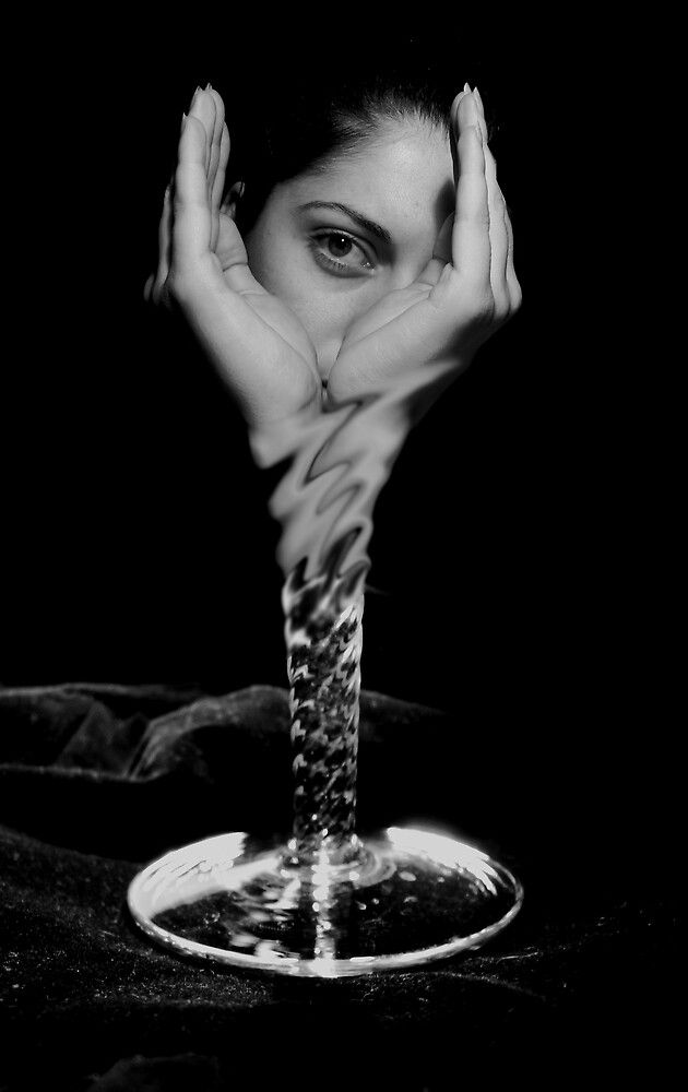 The last drop... by Veronica Pisica