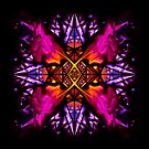 Stained Glass Chaos IV by ifourdezign