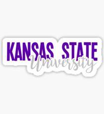 Kansas State University Sticker