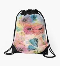 Wild Garden Drawstring Bag