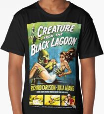 Creature from the Black Lagoon - vintage horror movie poster Long T-Shirt
