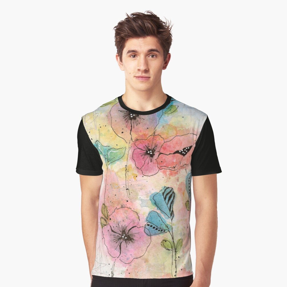 Wild Garden Graphic T-Shirt Front