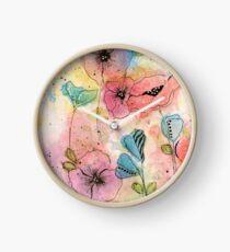 Wild Garden Clock