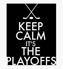 Hockey Playoffs Photographic Print
