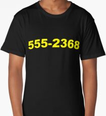 We're Ready To Believe You Phone Number Long T-Shirt