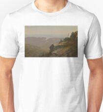 Artist Sketching at Mount Desert Vintage American Art T-Shirt