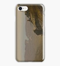 Artist Sketching at Mount Desert Vintage American Art iPhone Case/Skin