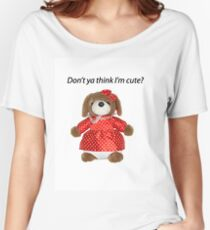 I'm Cute Women's Relaxed Fit T-Shirt