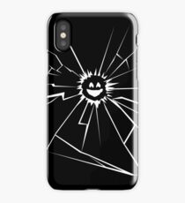 Black Mirror Smile iPhone Case/Skin