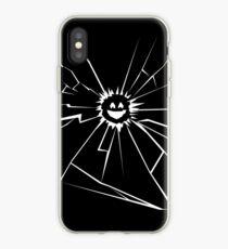 Black Mirror Smile iPhone Case