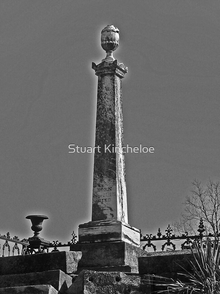 Highlighted Grave by Stuart Kincheloe