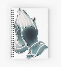 Drake // praying Spiral Notebook