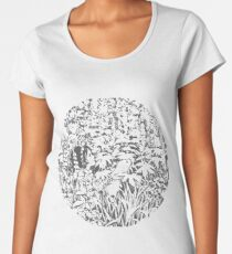 Candy Claws - Ceres & Calypso in the Deep Time Women's Premium T-Shirt