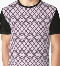 Fancy Fence Pattern Graphic T-Shirt
