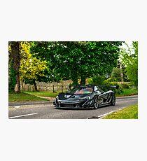 McLaren P1 LM Photographic Print