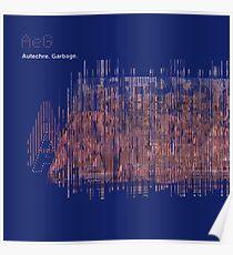 Autechre - Garbage EP Poster