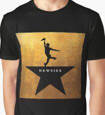 Newsies Hamilton Mashup Graphic T-Shirt