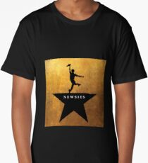 Newsies Hamilton Mashup Long T-Shirt