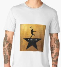 Newsies Hamilton Mashup Men's Premium T-Shirt