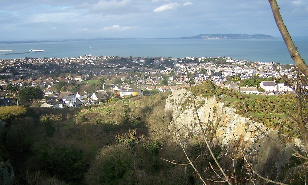 A view from Killiney Hill by niamhmcnally