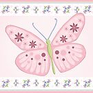 Flower Butterfly by Amanda Francey