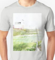 Bird Sanctuary 2  #RBStaycay #Wildlife #Plants #Biodiversity #Experiment #Surreal #Lush #Bold #Colorful #Landscape #Architecture #Nature #Outdoors #Future #Post-Apocalyptic T-Shirt