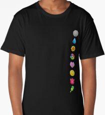 Pokemon Original Badges Long T-Shirt