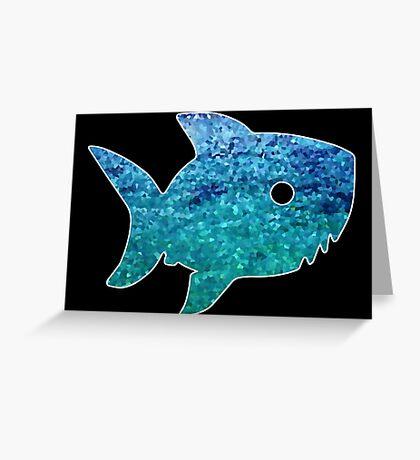 Big Little Shark Greeting Card