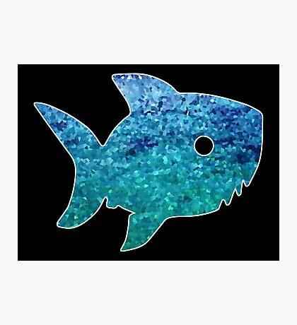 Big Little Shark Photographic Print