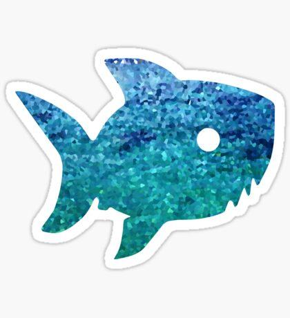 Big Little Shark Sticker