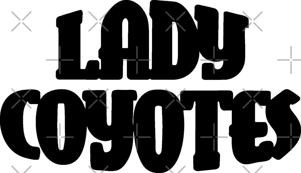 Lady Coyotes by jdamelio