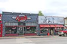 Ozark Cafe, Jasper, Arkansas by Graeme  Hyde