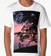 A Summer Sunset in New Zealand Long T-Shirt