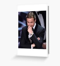Ryan Gosling Greeting Card