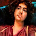 study woman after John William Godward by Hidemi Tada