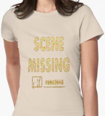Scene Missing Womens Fitted T-Shirt