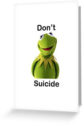 Dont kermit suicide greeting cards by rhabstraction redbubble dont kermit suicide by rhabstraction m4hsunfo