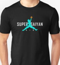 Air Super Saiyan - SSGSS Blue T-Shirt