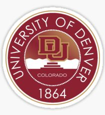 University of Denver Pioneers Sticker